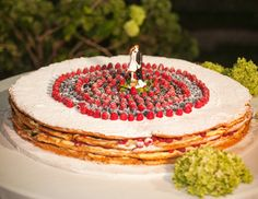 Italian wedding cake, Mediterranean wedding cake, Mille Feuille wedding cake