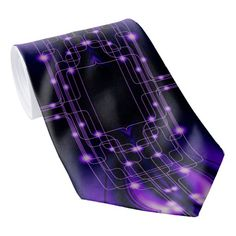 Shop Purple Light Technology Tie created by BlueRose_Design. Light Purple, I Shop, Ties, Technology, Fabric, Pattern, Color, Design, Tie Dye Outfits