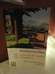 Andrea Camilleri -Die schwarze Seele des Sommers - tinaliestvor