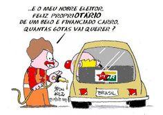 Aumento da Gasolina... é afundar um pouco mais este Brasil...