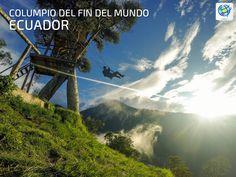 Subir al columpio del fin del mundo en #Ecuador