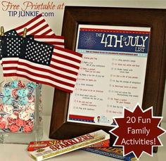 20 Fantastic Ways to Celebrate the 4th of July {free printable}