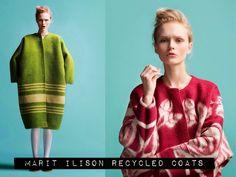 Это просто бомба! Пальто из советских одеял! Эстонский дизайнер Marit Ilison | Мой мир в фотографиях