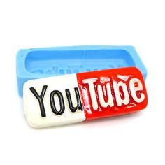 Youtube Cabochon 32mm Bakery Flexible Mould 344m  Silicone Mould BEST QUALITY on Etsy, £3.31