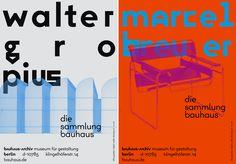 A sinistra: Walter Gropius Walter Gropius: Building for the Bauhaus-Archiv / Museum für Gestaltung, 1979 Bauhaus-Archiv / Museum für Gestaltung, © L2M3. A destra: Marcel Breuer, Tubular steel chair, 1926 Bauhaus-Archiv / Museum für Gestaltung, © L2M3