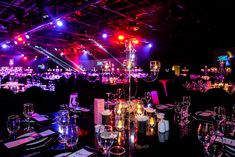 Avis Feet Awards | Table Decor |  Worx Group Corporate Event Planning