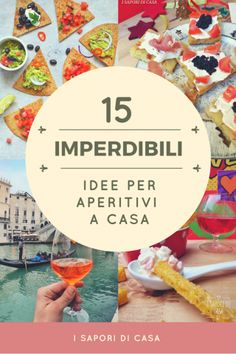 10 PASTE AL FORNO IRRESISTIBILI – I Sapori di Casa Happy Hour Food, Catering, Smoothie Drinks, Bar Drinks, Antipasto, Food Humor, Appetisers, Creative Food, Food Design