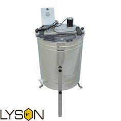 Ο οικονομικότερος ηλεκτρικός μελιτοεξαγωγέας 4 πλαισίων στην αγορά με την εγγύηση της εταιρίας  LYSON . Σειρά MINIMA LINE Τύπος 4 πλαισίων Διάμετροσ[mm] Ø500 Τύπος πλαισίου American Langstroth Σύστημα κίνησης Ηλεκτρικό Τροφοδοσία 230V Τύπος χειριστηρίου MDD-01 Μοτέρ 24V/120W Πάχος μελ/γέα 0,6 mm Κάνουλα Πλαστική6/4 Εγγύηση 2 χρόνια