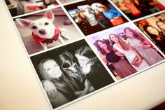How to print your instagram photos and turn them into magnets:- http://www.instapix.co/