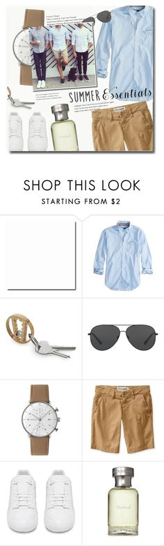 """Summer Menswear Essentials"" by meyli-meyli ❤ liked on Polyvore featuring American Eagle Outfitters, Michael Kors, Junghans, Aéropostale, Balenciaga, Burberry, men's fashion, menswear and summermenswearessentials"