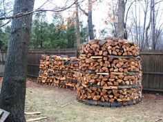 Firewood Stacking Method Archives - The Prepared Ninja