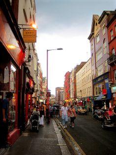 Soho Street Scene, London