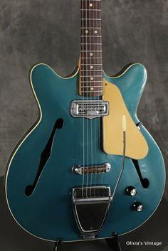 Fender Coronado I 1966 Lake Placid Blue