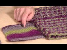 Learn How to Use Self Striping Yarn with Vickie Howell