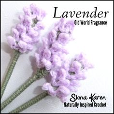 Lavender Crochet Pattern PDF by sionakaren on Etsy, $3.00