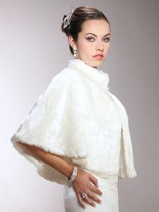 MAriell Faux Mink Pelted Fur Bridal Cape in 3 Colors. Our luxurious Faux Fur Pelted Cape in Ivory, Jet or White adds warmth & glamour to winter weddings & holiday galas. Bridal Shawl, Bridal Cape, Bridal Shrugs, Kate Middleton, Bella Bridal, Affordable Bridal, Fur Cape, Fabulous Furs, Fur Stole