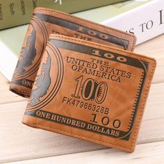 100 Dollar Bill Money Print Wallet – eDealRetail