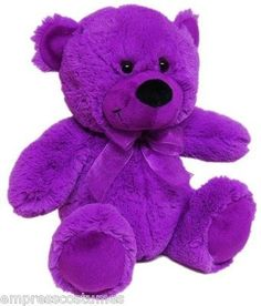 Purple Life-Size Teddy Bear | life size lilac plush teddy bear 55 inch giant purple