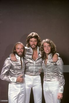 The Bee Gee's were a very popular band during the 70's. They were known for their disco music, the style of music for that time.