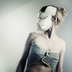 Masked – In Flight Parchment gas masks by Reykjavik designer Sruli Recht. Called Masked – In Flight, the masks are made of folded parchment and contain respirators with replaceable filters.