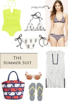The Summer Suit // by The Yuppie Files