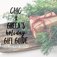 The best natural bath and body products for gift giving on the internet.