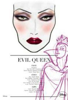 M.A.C Makeup Disney Venomous Villain's evil Collection. Look