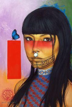 victor crisostomo gomez artwork   Victor Crisostomo Gomez ~ Soul of the Forest   Tutt'Art@   Pittura ...