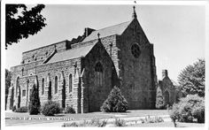 Sepia Saturday 219 - Arches and Significant Buildings #sepiasaturday #Wangarattahistory #holytrinitycathedral #Clark #genealogy