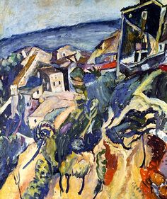 Chaim Soutine, Houses by the Sea  on ArtStack #chaim-soutine #art