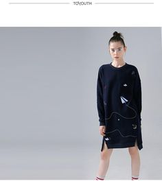 new in 2017 fashion clothing autumn collection outfit trend dress Fashion 2017, Fashion Outfits, Trend Dress, Embroidery Dress, Adidas Jacket, Autumn Fashion, Graphic Sweatshirt, Clothes For Women, Trending Outfits
