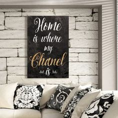 Chanel Is My Home - Oliver Gal Art