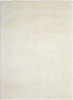 Yummy Shag Rug in White - kathy ireland Home by Nourison