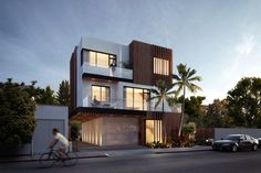 residential facade multifamily WEHO - kevintsaiarchitecture