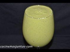 Jugo verde  para la prostata, bajar el colesterol y limpiar el colon