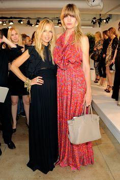 Rachel Zoe and Delfina Blaquier