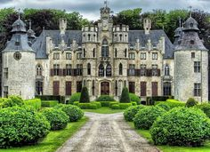 Borrekens Castle in Belgium.