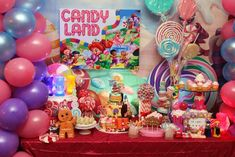 Willy Wonka's Candyland Wonderland Themed Party.