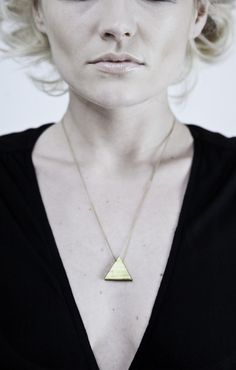 Triangle Necklace $35