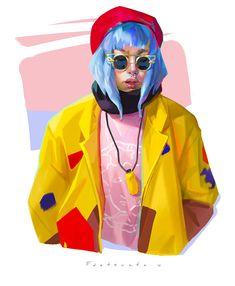 Digital Paintings by Alexandra Fastovets – Inspiration Grid | Design Inspiration #illustration #art #digitalart #digitalillustration #digitalpainting #illustrationinspiration #portrait #inspirationgrid