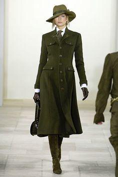 Ralph Lauren Fall 2006 Ready-to-Wear Fashion Show - Hana Soukupova