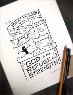 Bless the Lord • my Refuge and Strength • Psalm 103 & Psalm 46 • Aaron Zenz