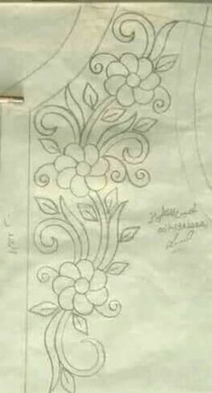 Discover thousands of images about Agavni Utas Zardosi Embroidery, Floral Embroidery Patterns, Tambour Embroidery, Hand Embroidery Stitches, Hand Embroidery Designs, Embroidery Dress, Ribbon Embroidery, Beaded Embroidery, Bordados Tambour