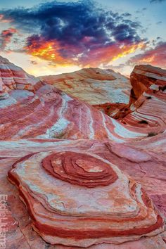 Valley Of Fire, Nevada. I don't think that I have ever seen something in life like this before!
