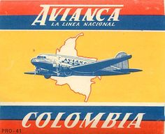 Vintage Aircraft scadta ) avianca - Colombia airline (Oldest airline of . Backpacking South America, South America Travel, Colombia Travel, Luggage Labels, Air Festival, Vintage Airplanes, Vintage Travel Posters, Latin America, Travel Inspiration