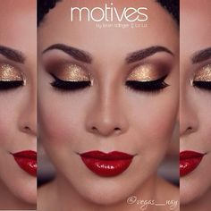 @motivescosmetics Color Perfection Quad  Color in Medium Dark & Dark. Honestly, these quads go on so smooth and color correct & cover without feeling too cakey, almost like a soft powdery finish❤️, then I set the contour w/ @toofaced Chocolate Soleil, & highlight with Motives® Shape & Sculpt Duo..     Will get more into detail on how to contour & I also I have a Y...