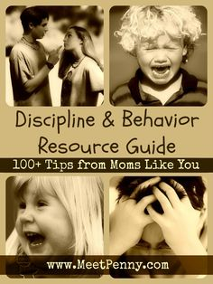 FREE ebook with 100+ tips from other moms about how to handle tattling, whining, teenagers, and more.