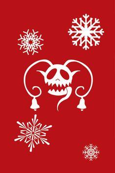Krampus Holiday Cards by TheArtofPatrisha on Etsy, $10.00