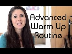 Freya\'s Singing Tips: Advanced Warm Up Routine (Exercises)