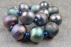 Into the Fire Lampwork Art Beads ~Slick~ Artist handmade glass beads SRA OOAK